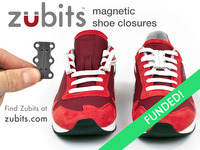 Your shoes just got insanely easy! Zubits make them magnetic