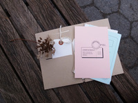 A Memory Between Us - A postcard kit when you travel