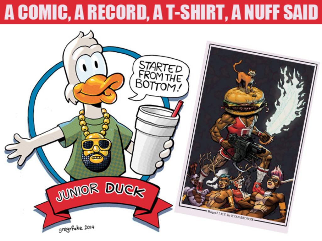 American Nature Presents a Comic A Shirt a Record Anuff said's video poster