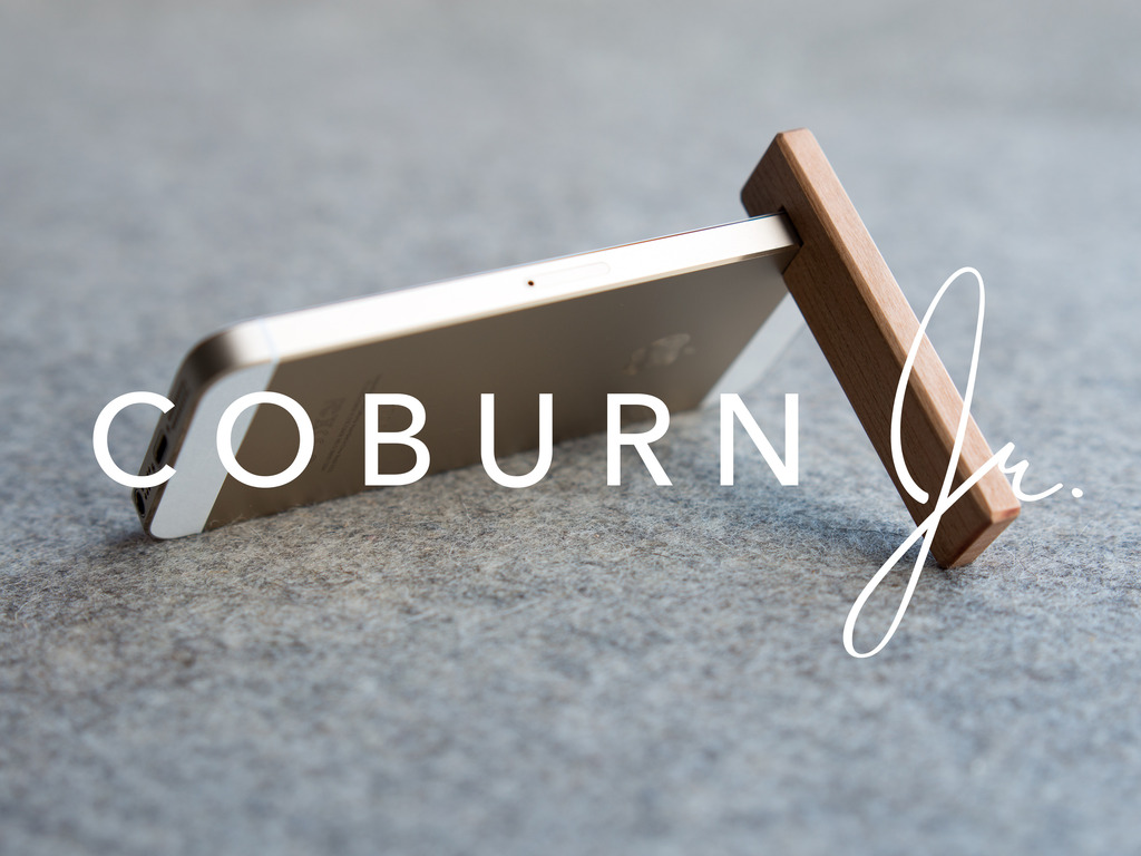 COBURN Jr. – iPhone stand's video poster