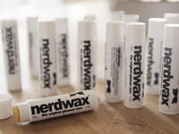 Nerdwax : It Keeps Your Glasses Up!