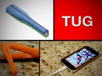 Tug. The Cellphone Charger Preserver