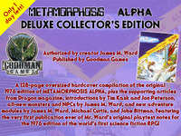 METAMORPHOSIS ALPHA Deluxe Hardcover Collector's Edition