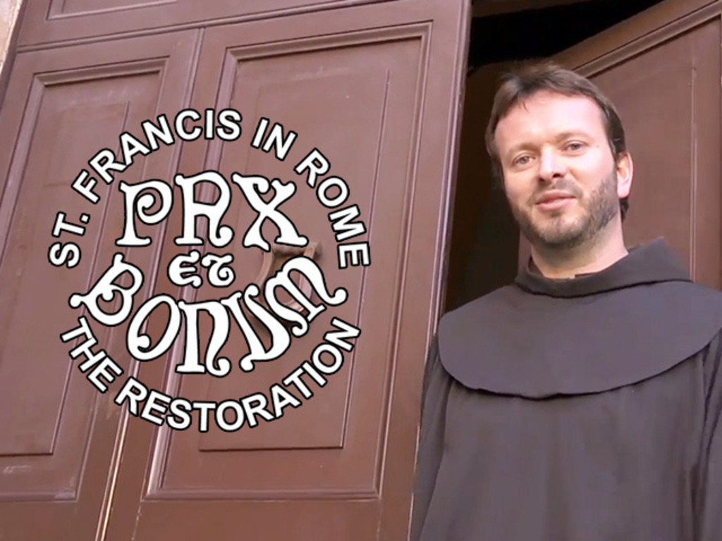 ST. FRANCIS IN ROME - THE RESTORATION's video poster