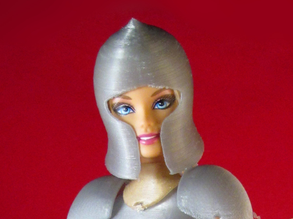 Faire Play: Barbie-Compatible 3D Printed Medieval Armor's video poster