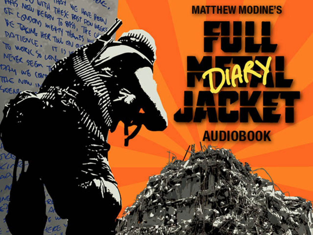 "Matthew Modine's ""Full Metal Jacket"" Audio Diary's video poster"