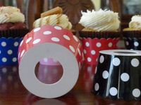 Cupcake Attire - Decorative Cupcake Holders