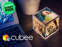 Cubee: The Illuminating Instagram Photo Cube