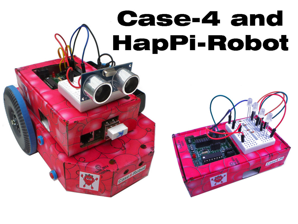 Case4-Kits and HapPi-Robot for the Raspberry Pi's video poster