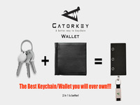 Gatorkey Wallet - the EASIEST wallet you will ever own!!!