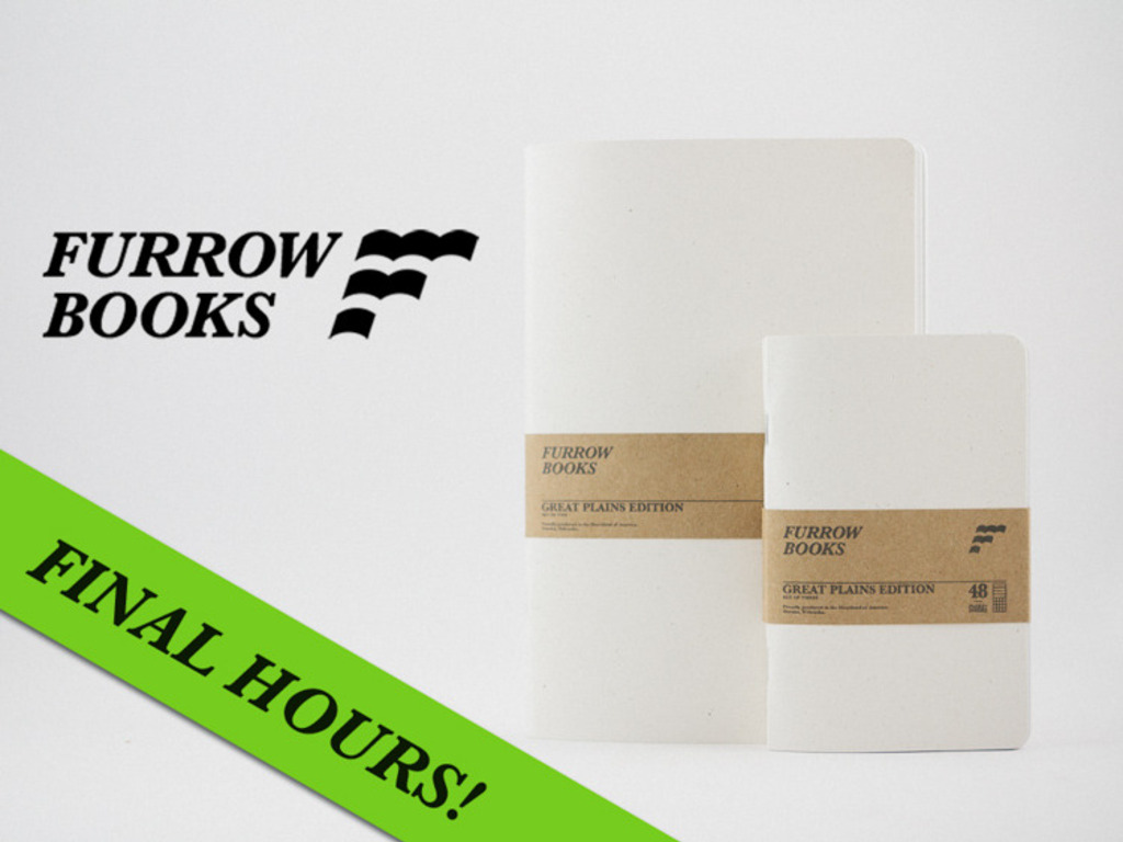 Furrow Books - Minimalist and Versatile Notebooks's video poster
