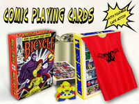 Bicycle®, Comic Cards, deck of Playing Cards