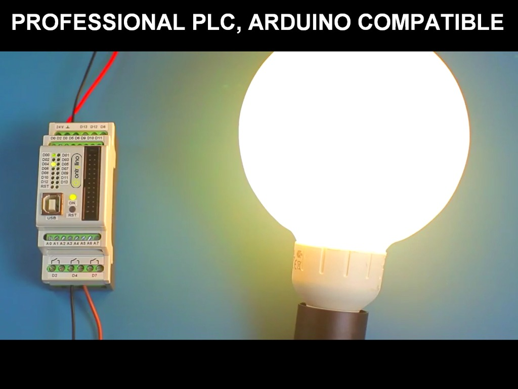CONTROLLINO: The first ARDUINO compatible PLC (Canceled)'s video poster