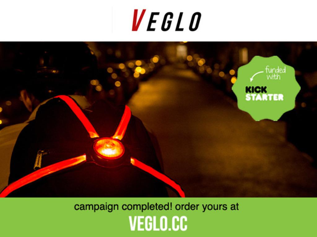 Commuter X4 - The wearable, fibre optic bike light's video poster