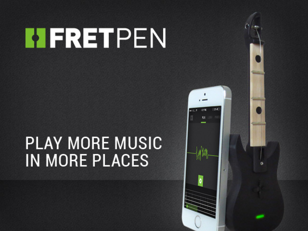 FretPen - Play Guitar Anywhere (Canceled)'s video poster