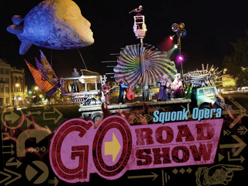 GO Roadshow's video poster