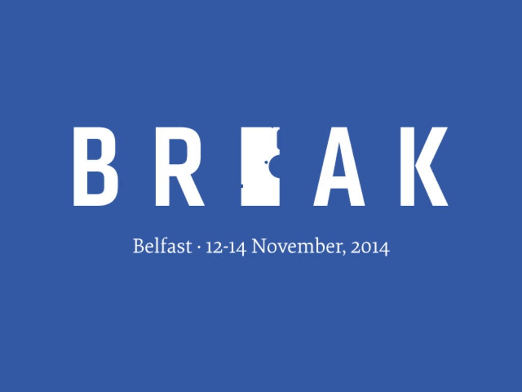 Break: A Conference That Questions the Edges of Design's video poster