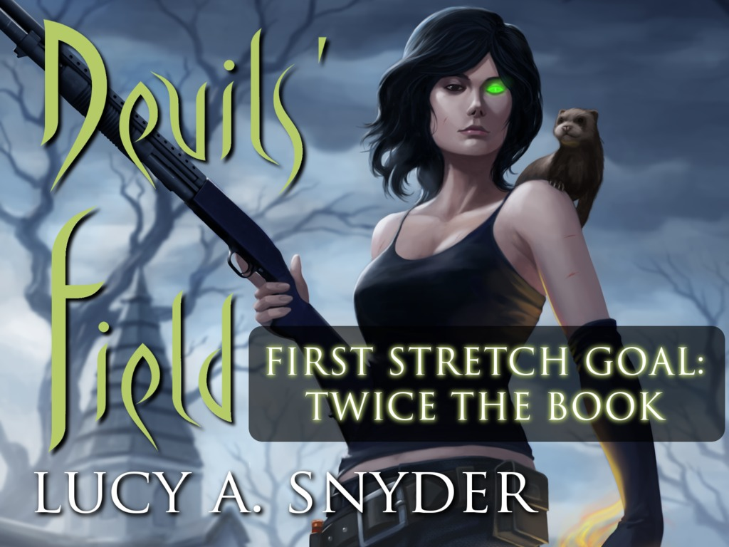 Devils' Field: Lucy A. Snyder's New Jessie Shimmer Novel's video poster