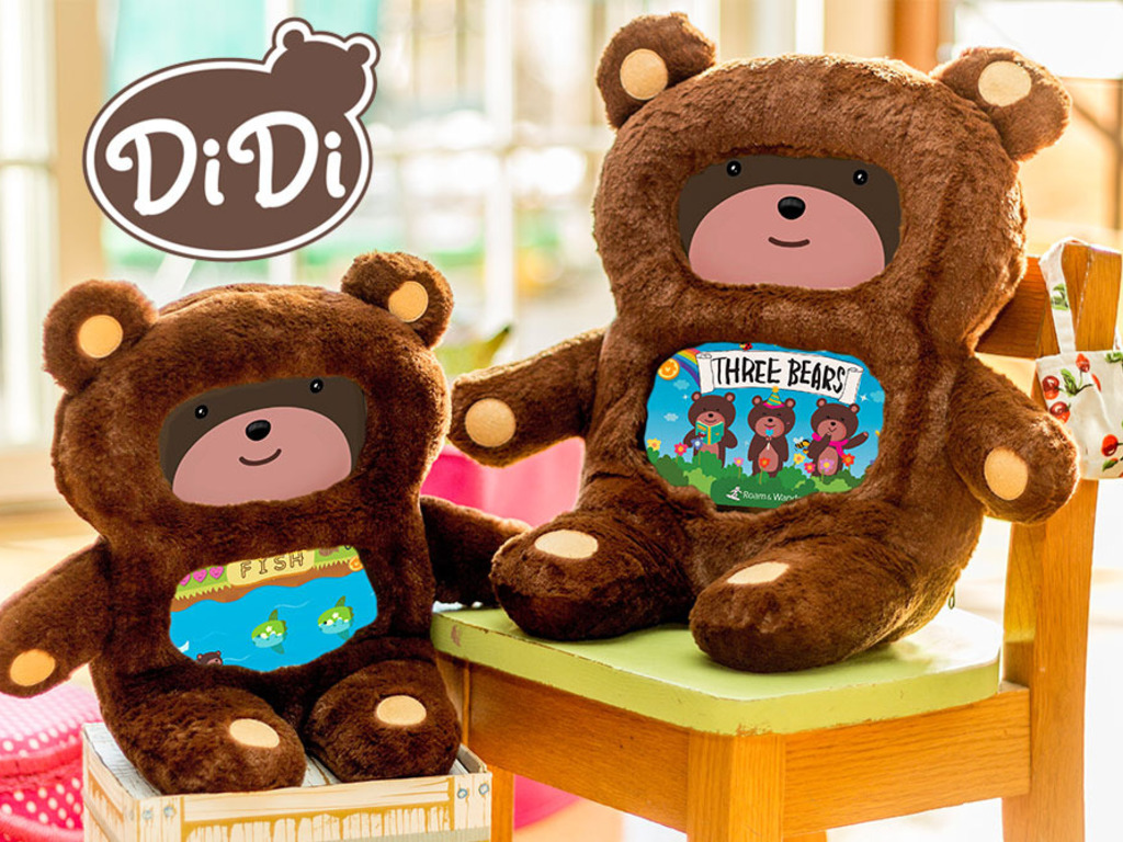 DiDi: iPad-Powered Teddy Bear's video poster