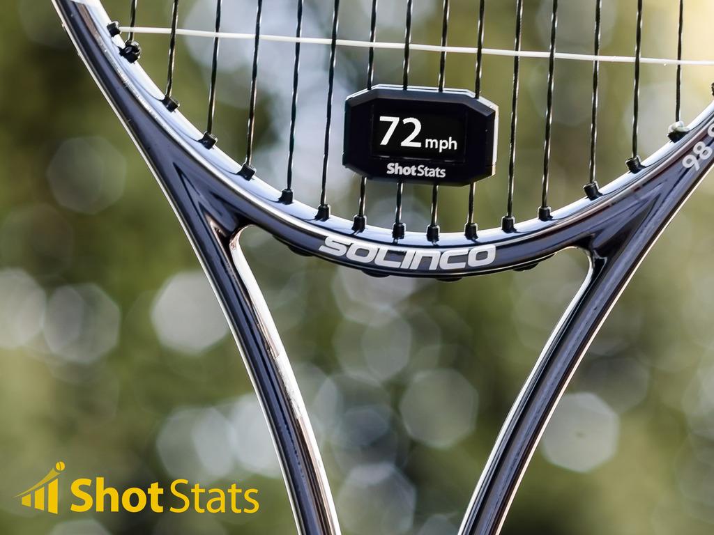 Shot Stats Challenger - Make Your Tennis Racket Smart's video poster