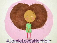 Children's Story Book: Jamie Loves Her Natural Hair