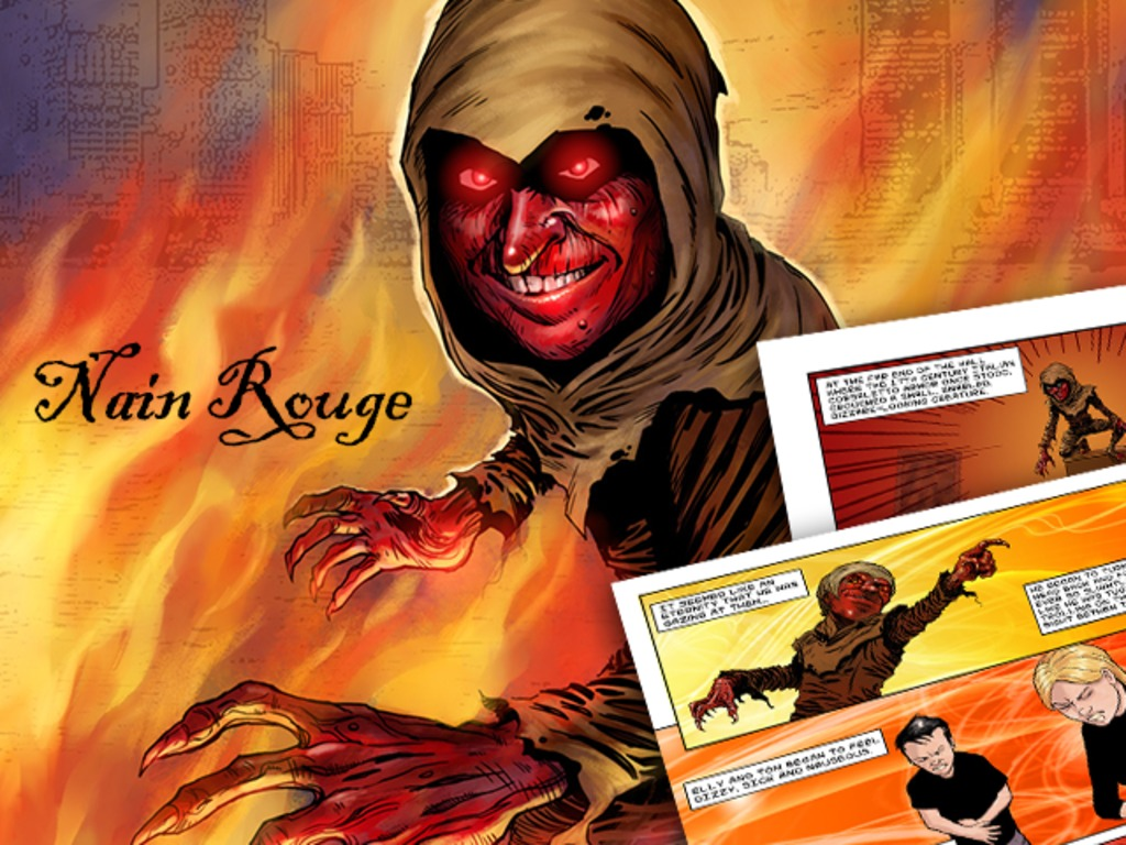 The Nain Rouge Graphic Novel's video poster