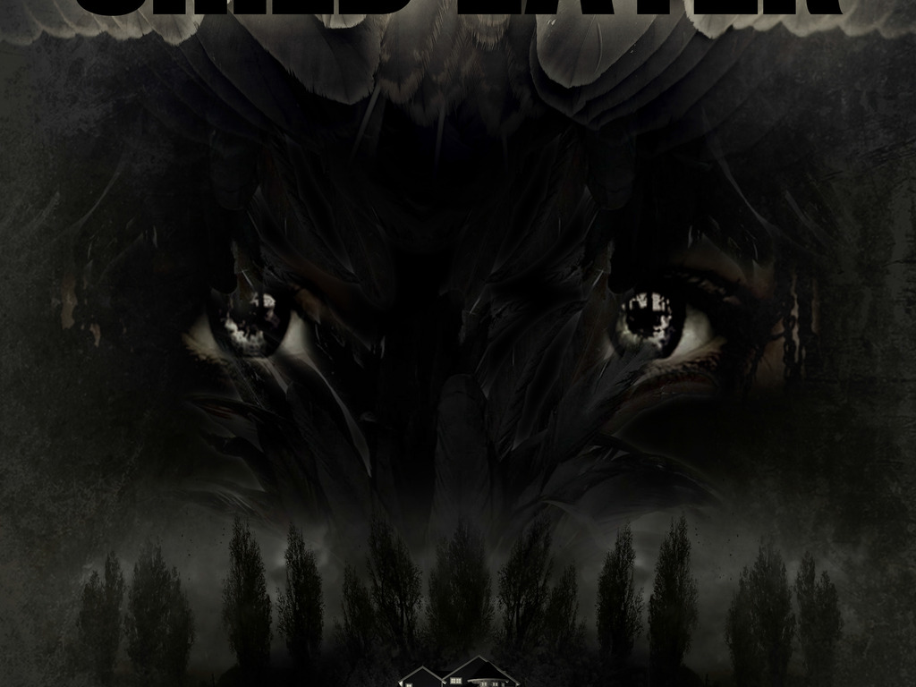 CHILD EATER - a feature horror film's video poster