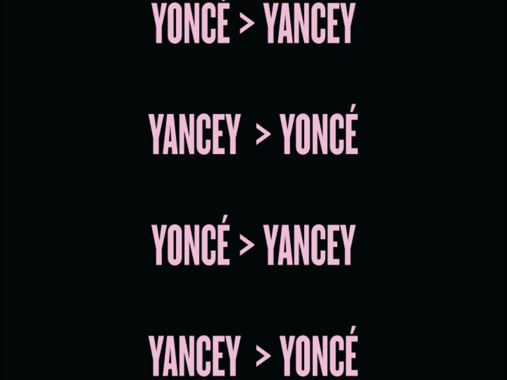 Yoncé > Yancey's video poster