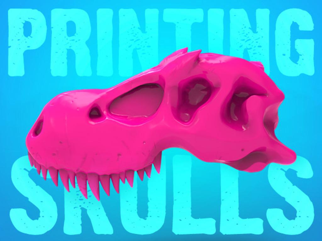 3D Printer Skull Kits: 'Boneheads' by 3DKitbash.com's video poster