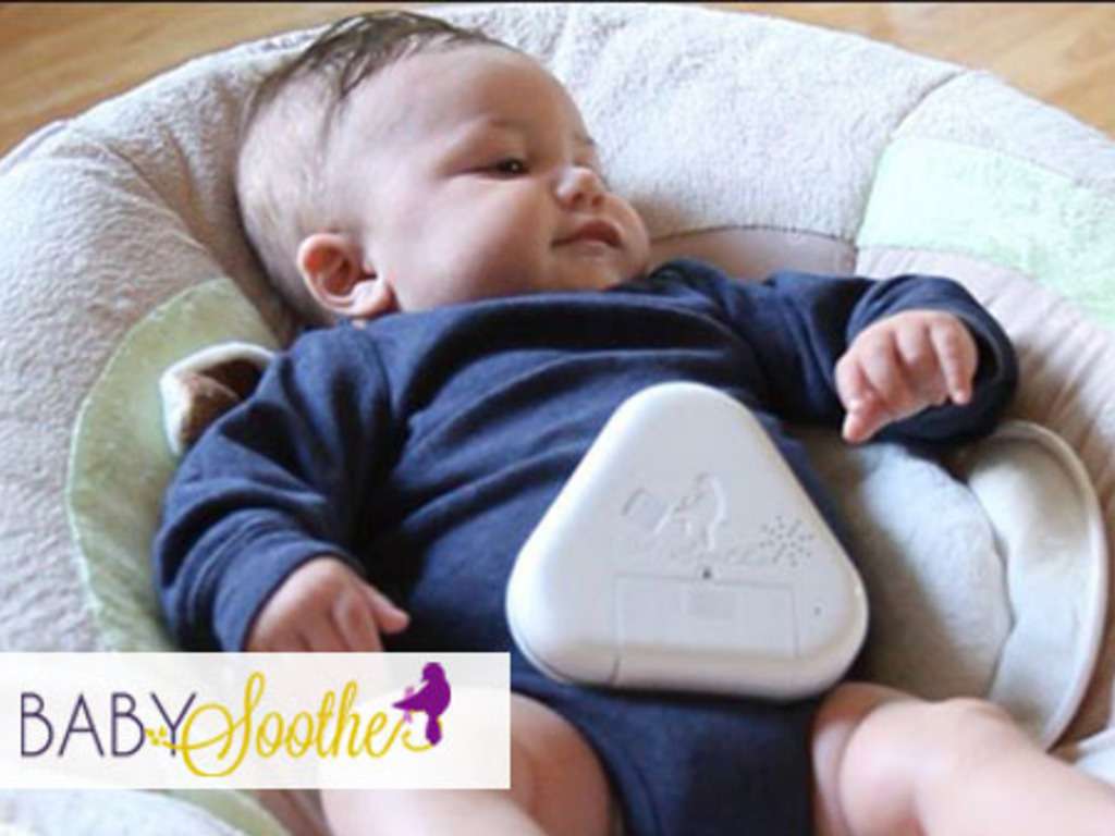 Baby Soothe, Mother's Touch: Device Soothes Crying Babies's video poster