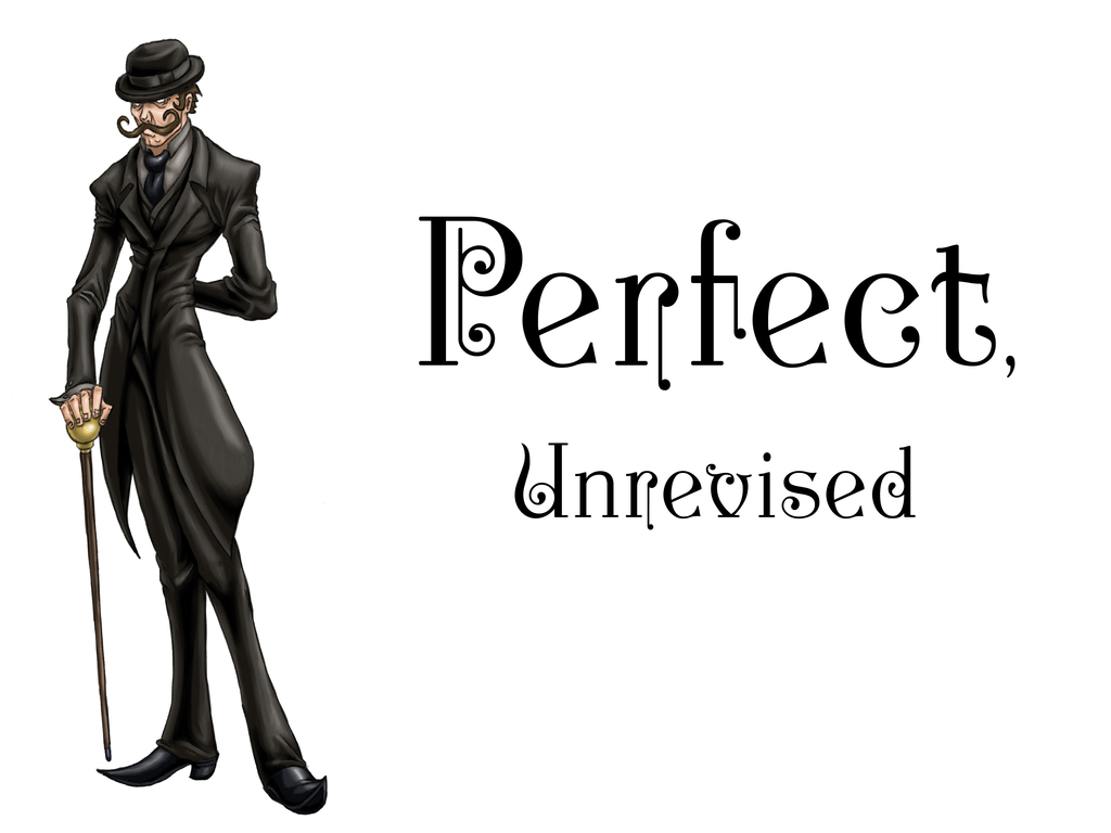 "Publishing ""Perfect, Unrevised"" - a story game's video poster"