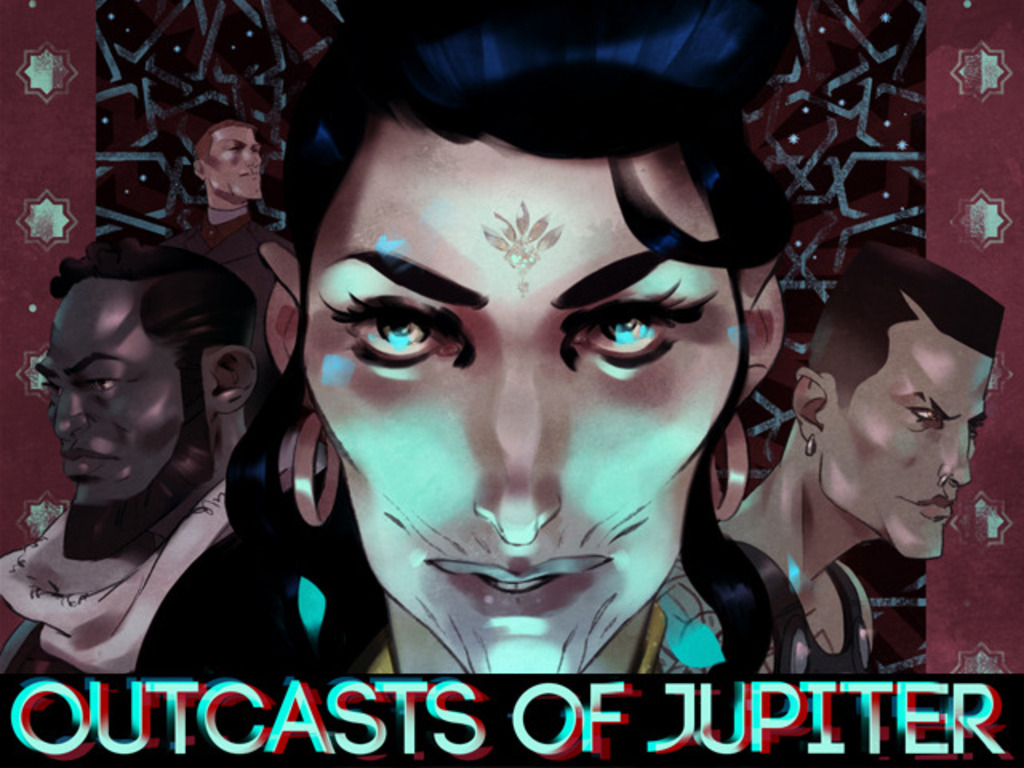 Outcasts of Jupiter's video poster