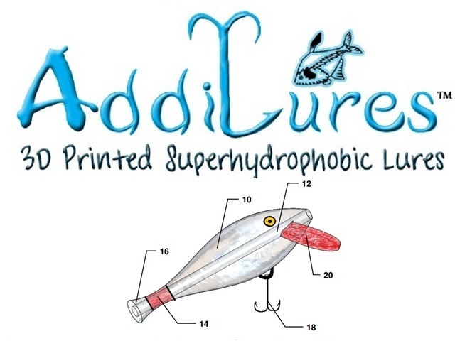 Addilures custom 3d printed patent pending fish lures by for 3d printed fishing lures