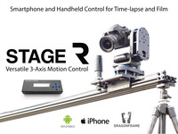 Stage R: Versatile Motion Control for Timelapse and Film