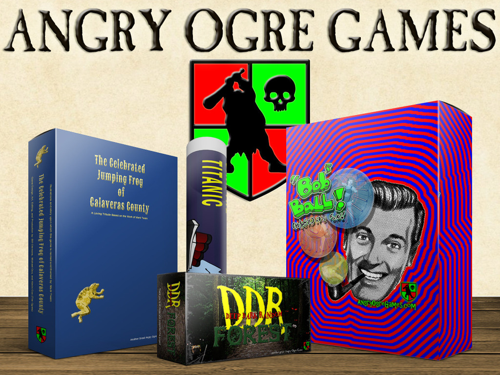 Angry Ogre Games Presents All the Board Games!!!'s video poster