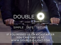 Double O - A simple, safe, secure bike light