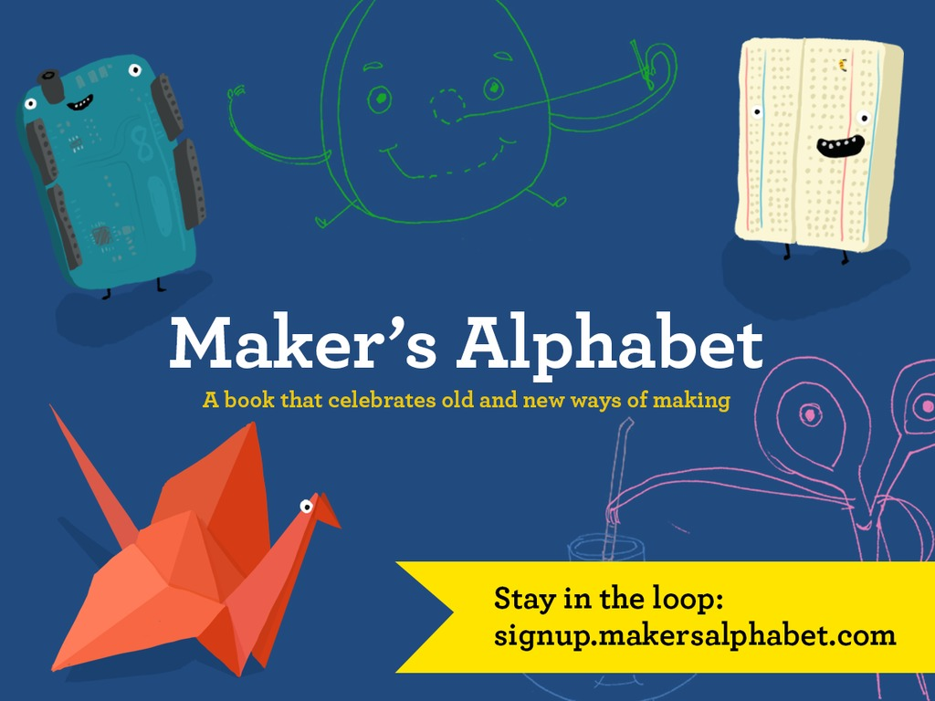 Maker's Alphabet's video poster