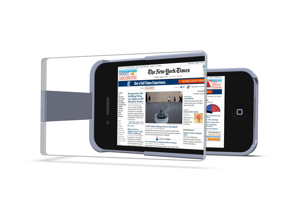 MagniCase - The Case That Magnifies Your iPhone Display 1.5x's video poster