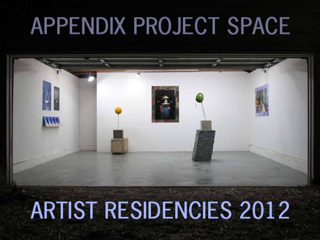 Appendix 2012's video poster