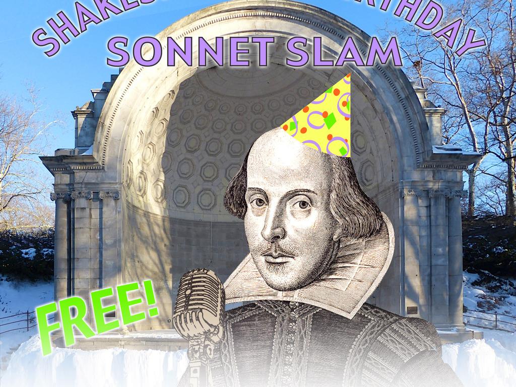 4th Annual Shakespeare's Birthday Sonnet Slam's video poster