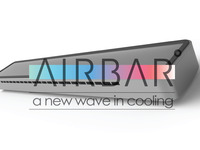 AIRBAR-Portable laptop cooling fan.