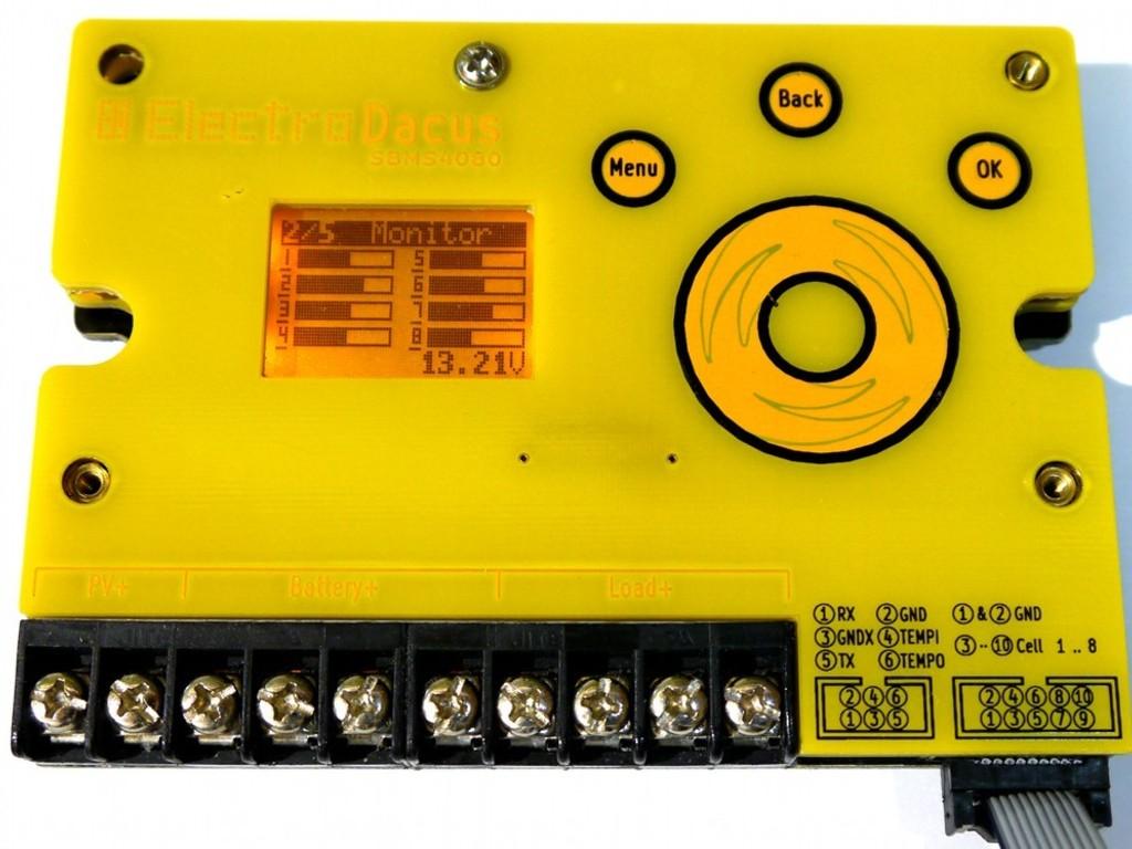 Open Source Programmable Solar BMS Li-ion, LiFePO4 dev board's video poster