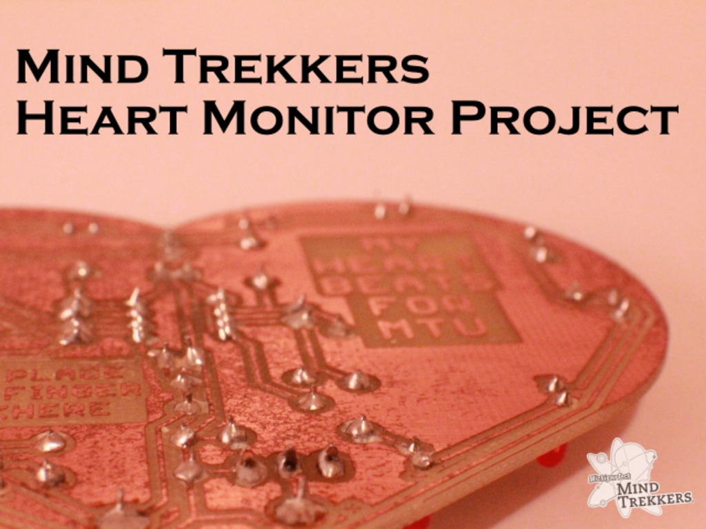 Mind Trekkers Innovative Outreach: Heart Monitor Project's video poster
