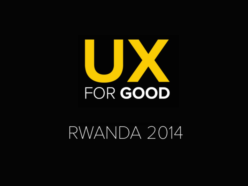 UX for Good 2014: Harnessing Feelings to Prevent Genocide's video poster