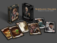 Sherlock Holmes Museum in Playing Cards