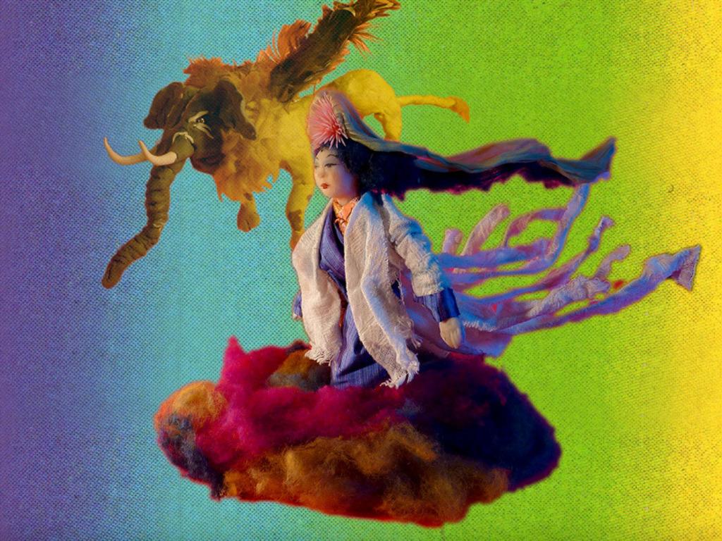 Alexis Gideon - Video Musics II: Sun Wu-Kong's video poster