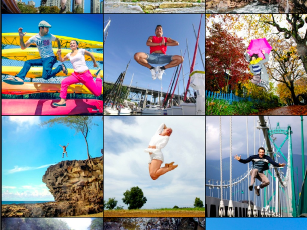 Jump for Joy Photo Project + Murality Vancouver's video poster