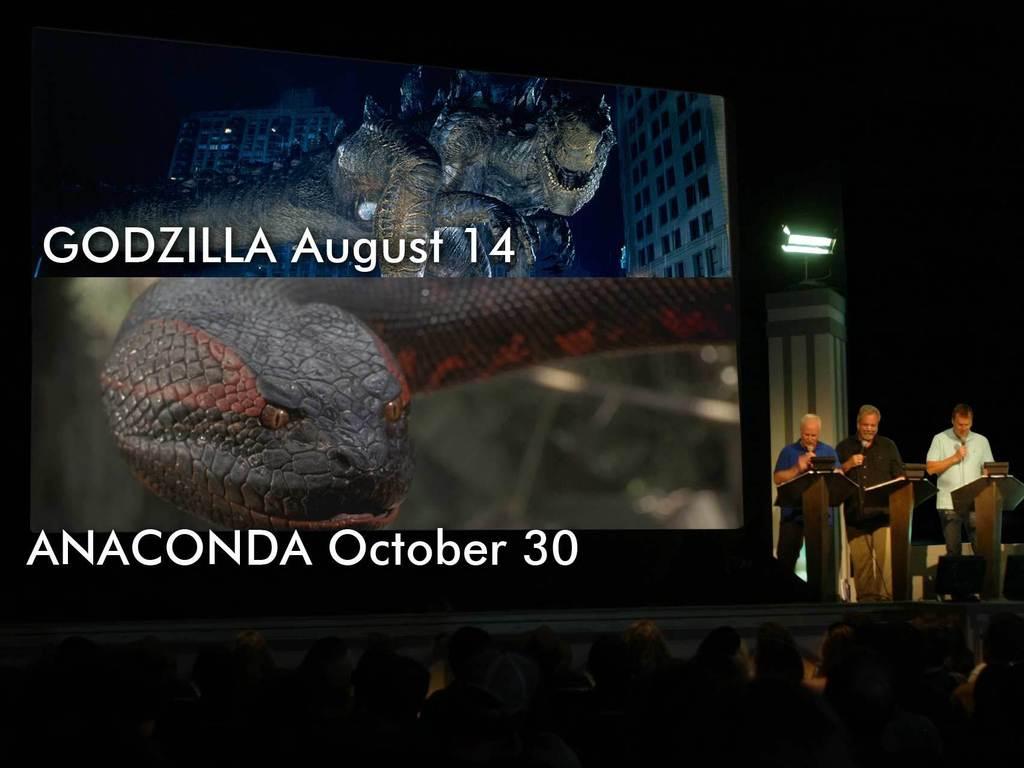 RiffTrax will Riff GODZILLA & ANACONDA in Cinemas Nationwide's video poster