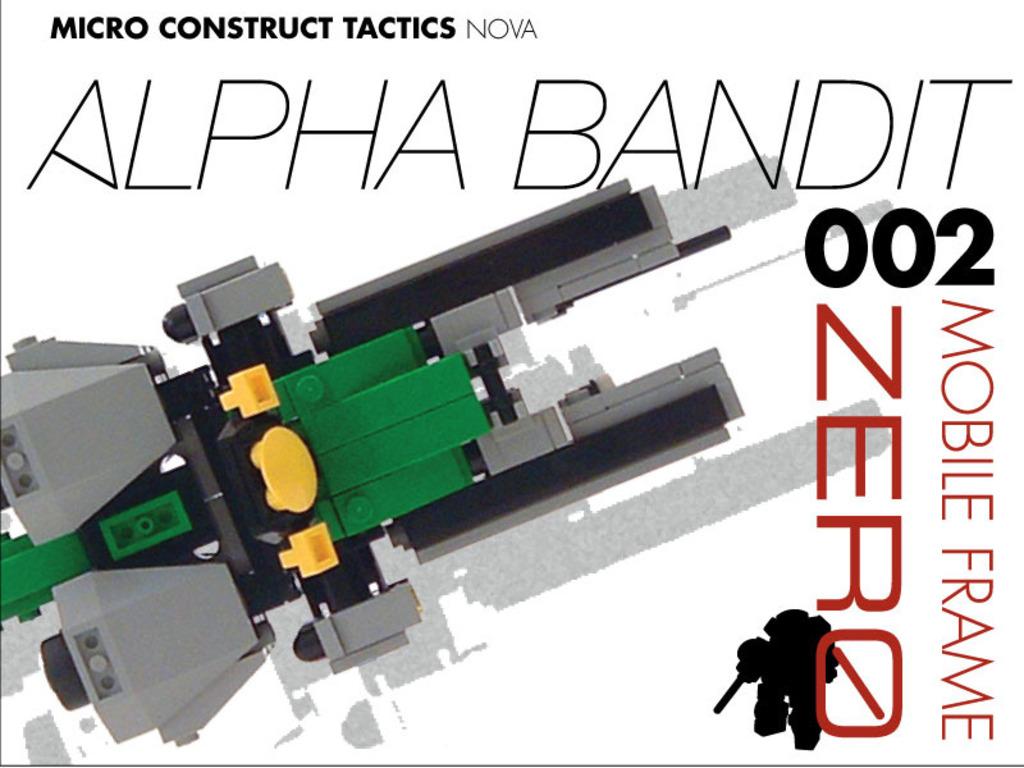 Mobile Frame Zero 002: Alpha Bandit's video poster