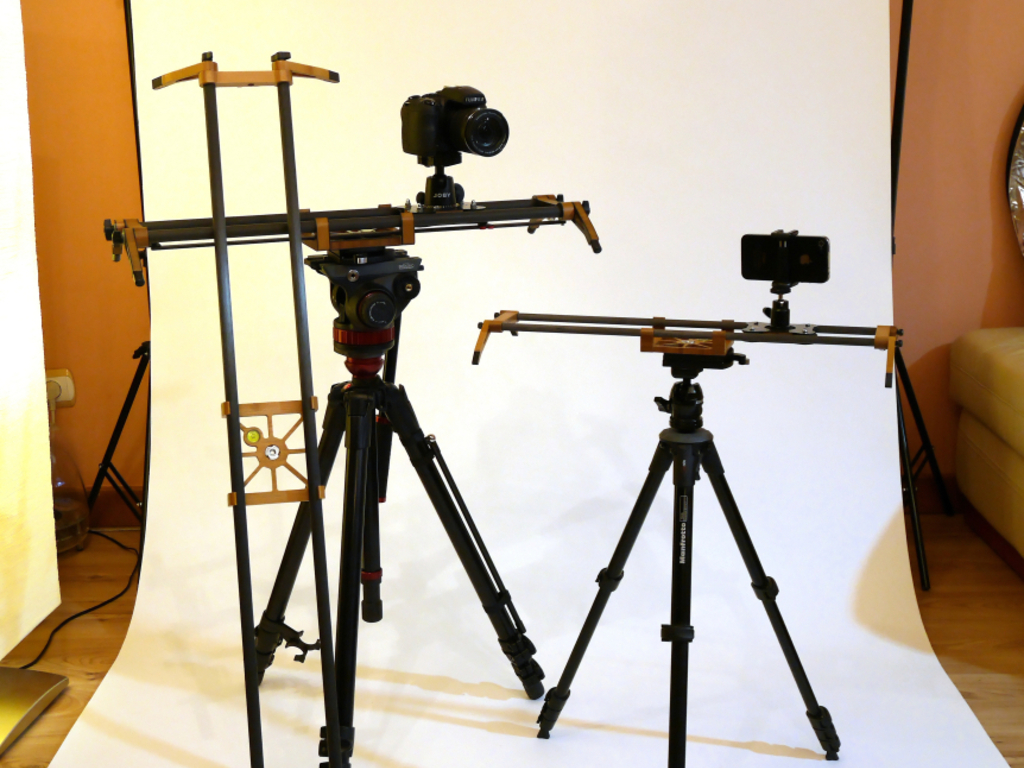 EXTRALITE G2 Camera Slider Family, from iPhone to HDSLR's video poster